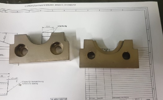 Kusová a sériová výroba kompletních, náhradních dílů pro přesné strojírenství