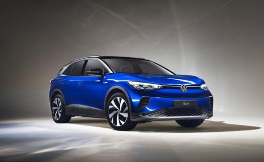 Elektrické SUV ID.4 VW obdrželo v testech Euro NCAP nejlepší hodnocení v podobě pěti hvězd