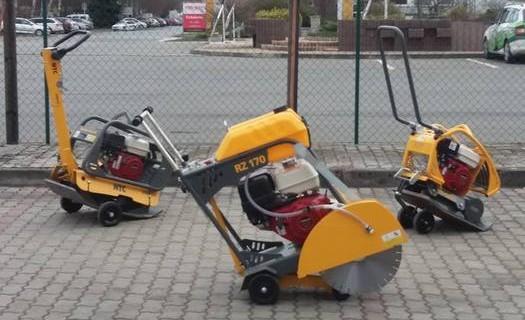 Pronájem, prodej a servis stavební mechanizace a nářadí Brno, vrtací kladiva, ruční nářadí, stroje