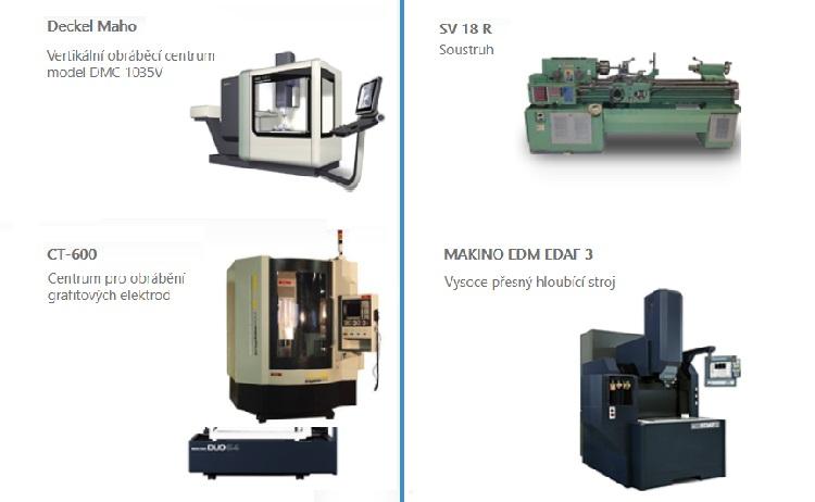 Výroba lisovacího nářadí ve vlastní nástrojařské dílně