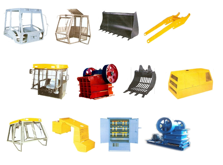 INDIA; Earth moving machines and cranes - parts