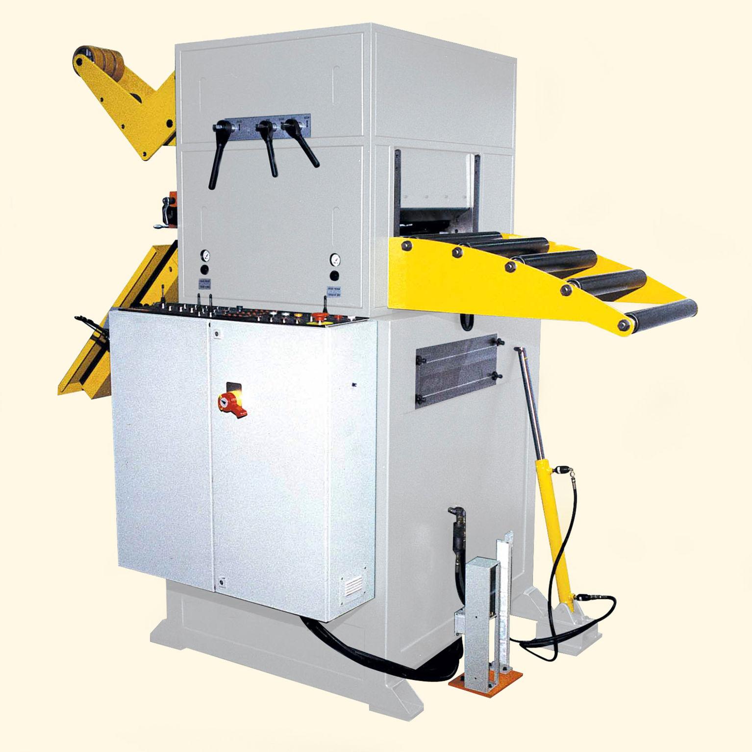 Rovnací zařízení do lisoven, modernizace výroby
