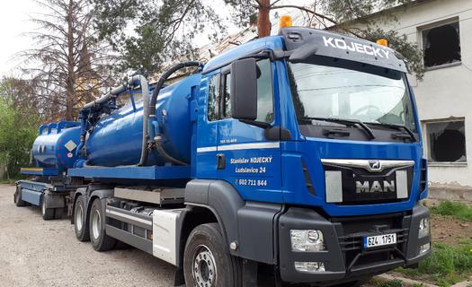 Odvoz fekálií a čištění odpadních vod Kroměříž, vývoz žump, septiků a fekálních jímek