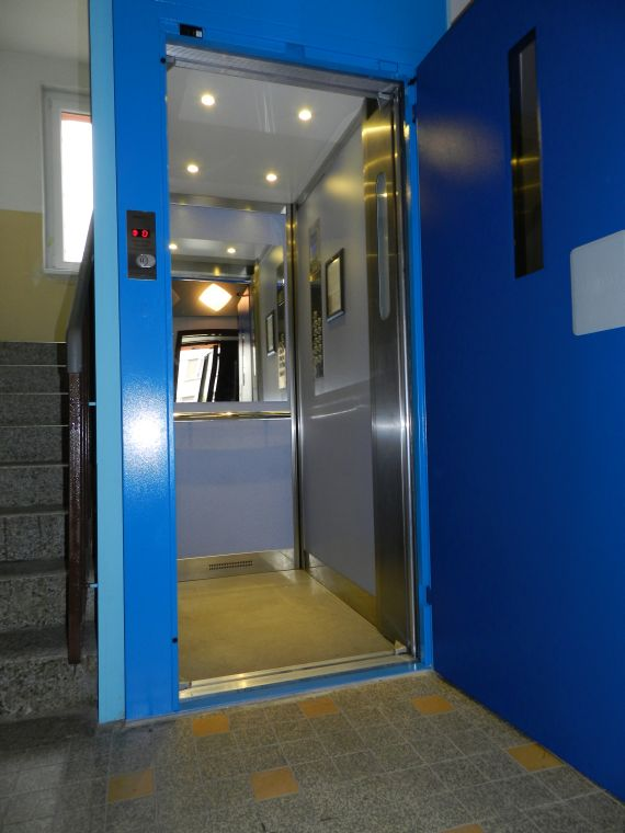 Osobní výtahy - modernizace
