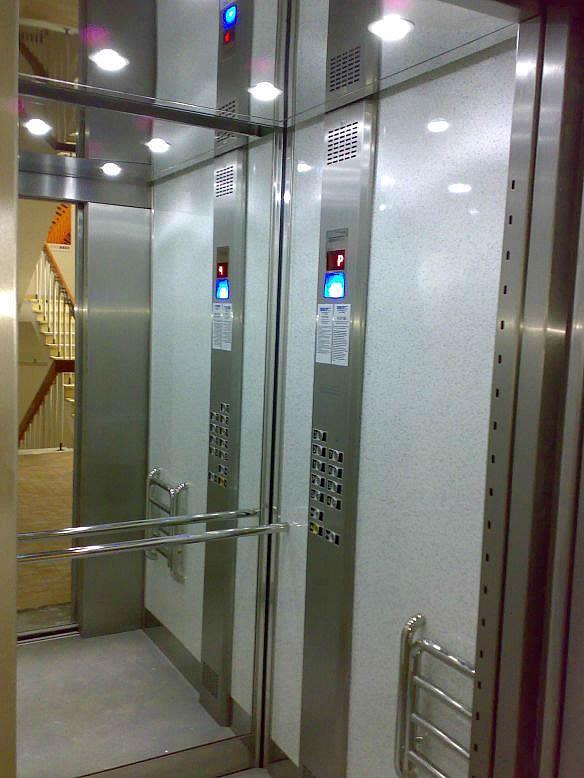 Osobní výtahy - rekonstrukce