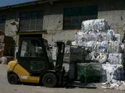 Sběrné suroviny, zpracování odpadu