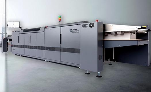 Tisková a vázací zařízení pro polygrafickou výrobu
