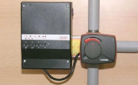 Výroba regulátory topení a teploty vratné kotlové vody - teplotní ochrana kotlů