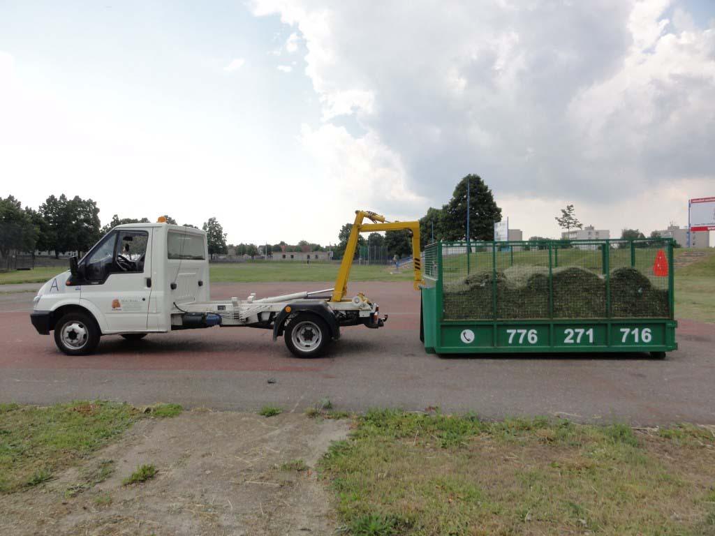 Likvidace a odvoz odpadu z údržby zeleně