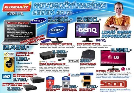 Prodej, akce monitor, paměťová karta, USB, HD rekordér Ostrava
