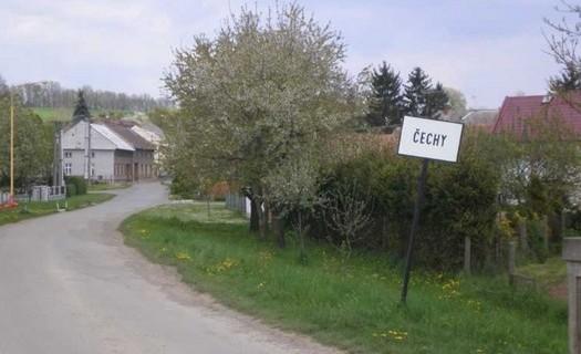 Obec Čechy v Olomouckém kraji