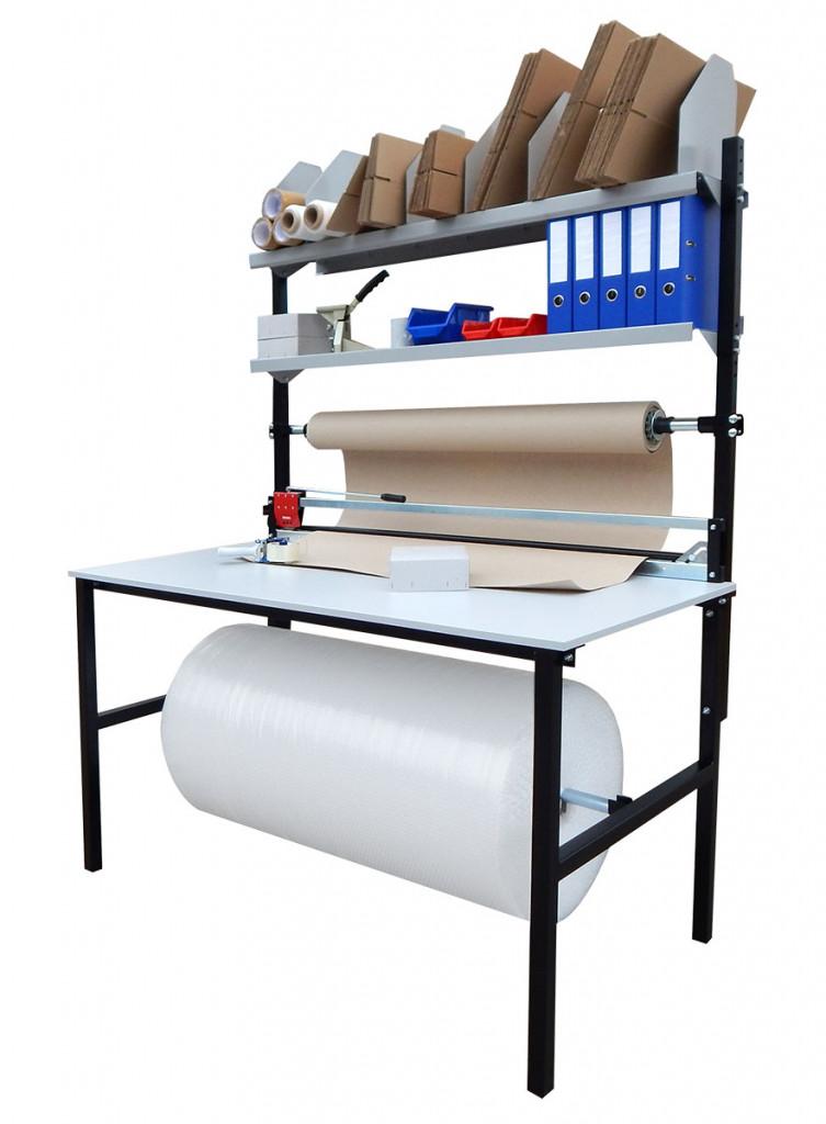 Balící pracoviště, stoly pro rychlou expedici zásilek