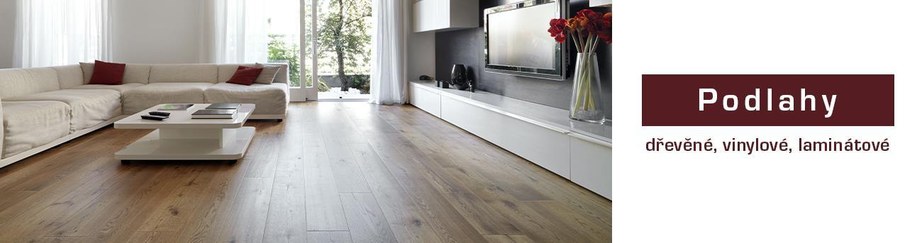 Podlahy dřevěné, vinylové a laminátové