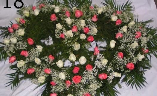 Pohřební ústav Marie Teplice, květinová výzdoba