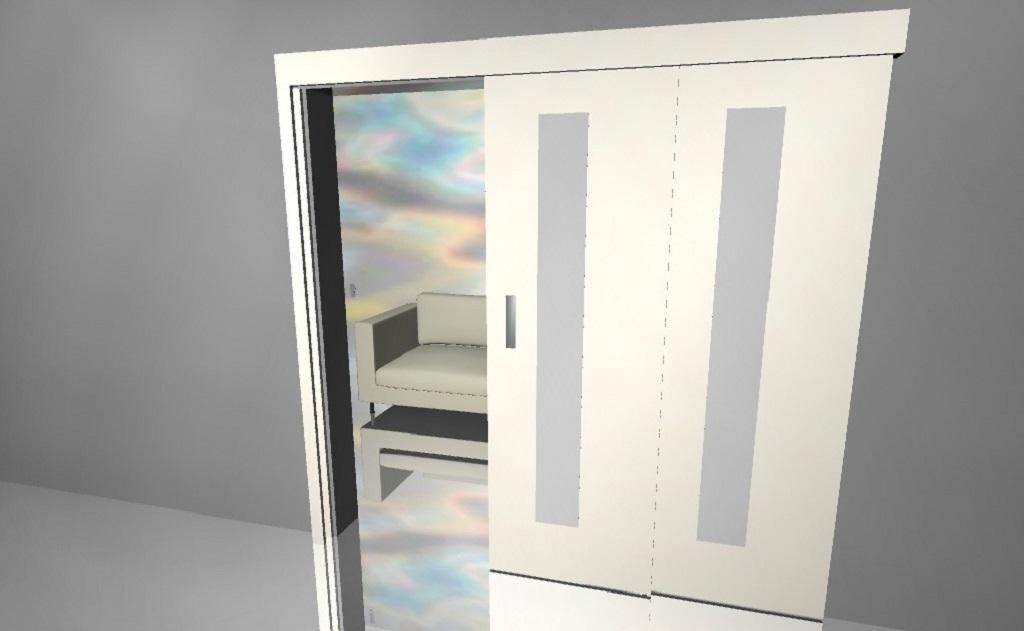 Různé typy posuvných dveří v eshopu