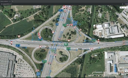 Geodézie, mobilní mapování Brno