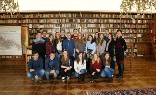 Gymnázium K.V.Raise a Střední odborné učiliště, Hlinsko, knihovna