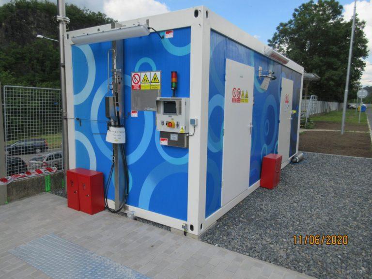 Zásobování technickými plyny, vodíkové stanice