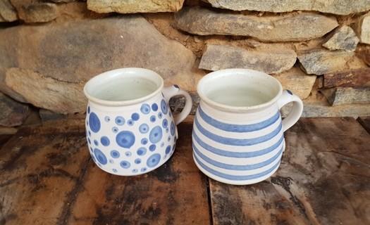 Ruční výroba keramiky Prachatice, hrníčky