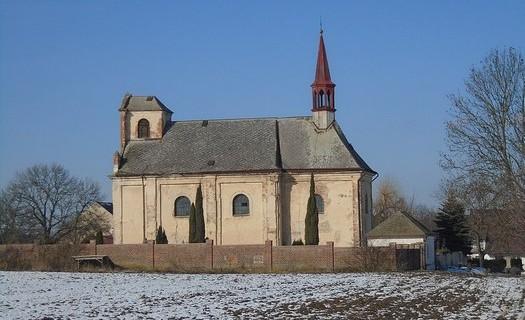 Obec Čistá okres Mladá Boleslav, Kostel svatého Vavřince