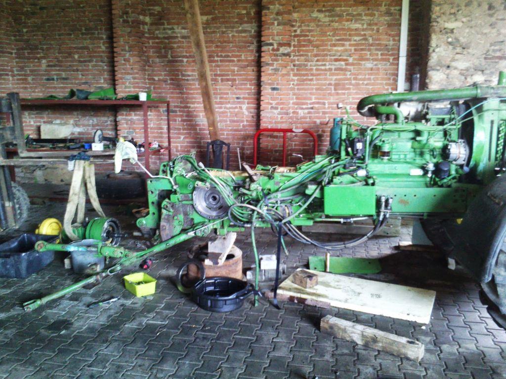 Opravy, servis a prodej strojů pro zemědělce a lesníky