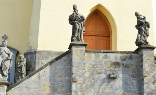 Obec Všeň, okres Semily, Kostel sv. Jakuba a Filipa
