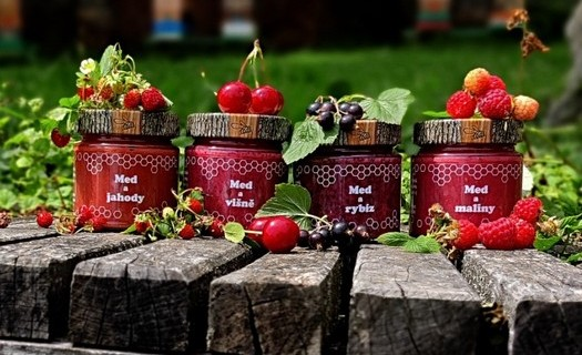 Produkty vyrobené z medu Mikulovice