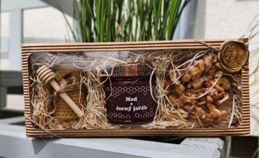 Dárková balení medů a produktů Mikulovice