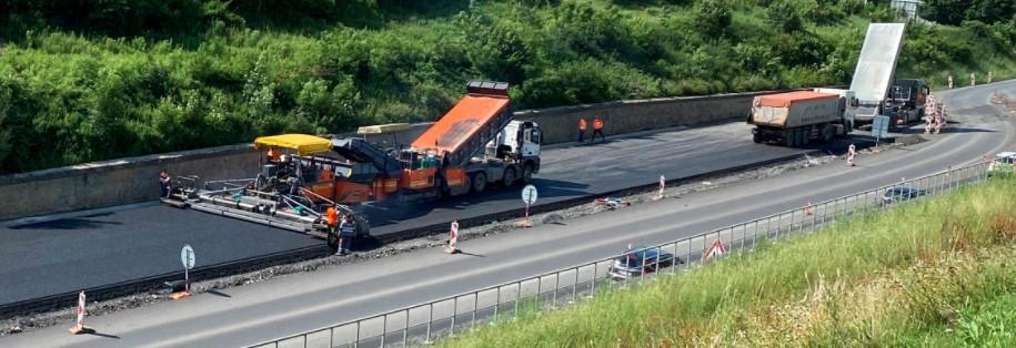 COLAS CZ, a.s. - výstavba silnic a dálnic