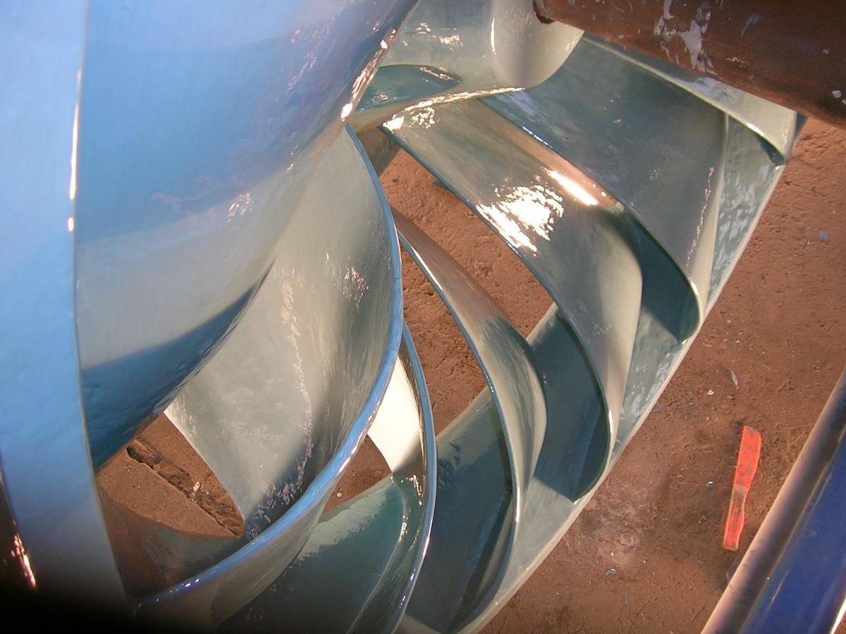 Průmyslový servis Litvínov - renovace kovu a betonu