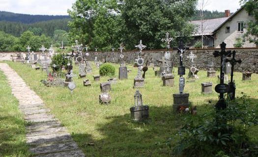 Obec Nová Pec okres Prachatice, hřbitov Pěkné