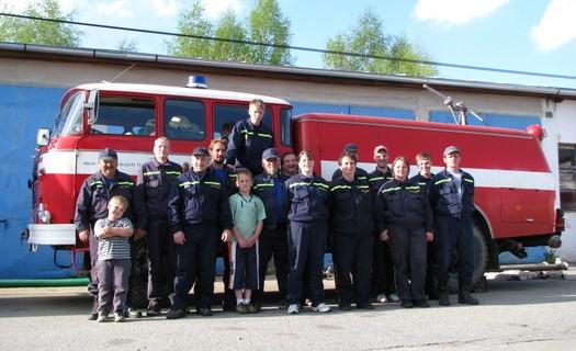 Obec Nová Pec okres Prachatice, sdružení dobrovolných hasičů