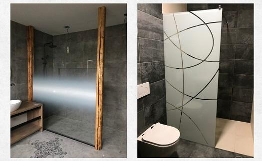Zakázková výroba designových skleněných sprchových koutů a zástěn do koupelny