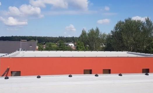 Realizace přístavby střech Vysoké Mýto