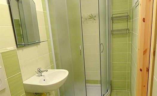 Koupelna v penzionu Družina Janovice u Rýmařova Jeseníky