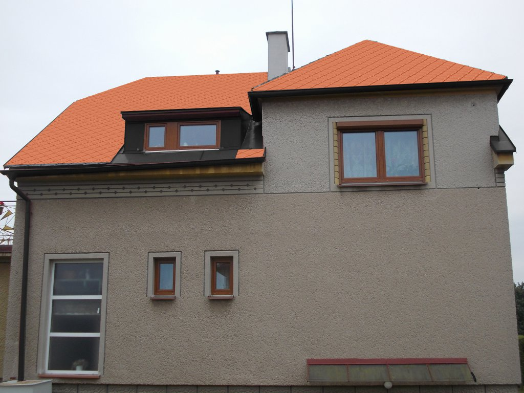 Vizualizace, návrh a realizace střech