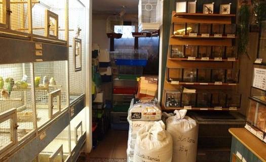 Chovatelské potřeby Martin Vránek Olomouc, prodej zvířat