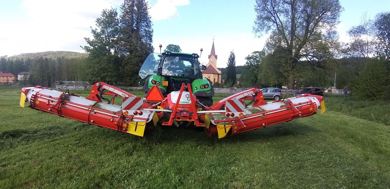 Dodávka kvalitních strojů pro zemědělce a lesníky