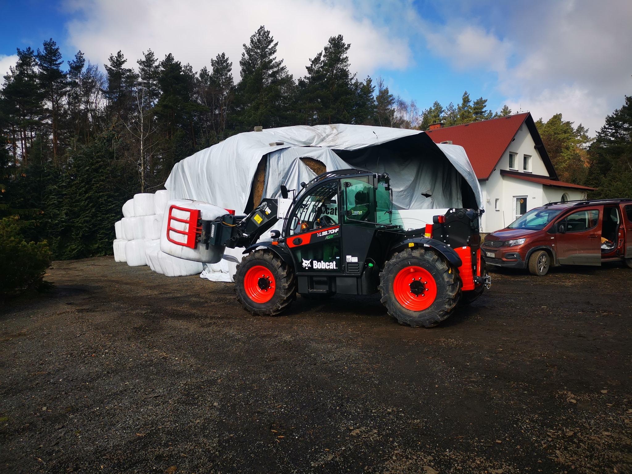 Stroje pro zemědělské účely - prodej a servis