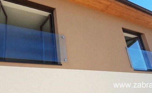 Zábradlí na francouzská okna Teplice