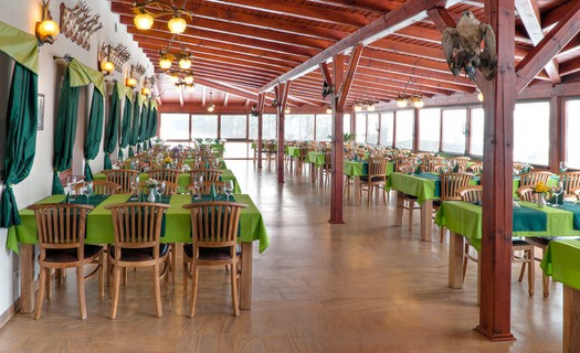 Restaurace Lovecká chata Folmava Domažlice, kapacita 90 míst