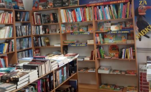 Rodinné knihkupectví Rychnov nad Kněžnou, prodej knih všech žánrů, prodej modelů