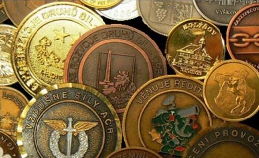 Zakázková kovovýroba Jablonec nad Nisou, výroba pamětních mincí