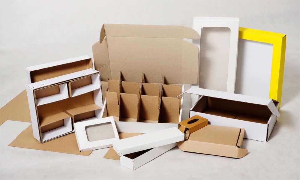 Výroba kartonových mřížek, vložek do krabic