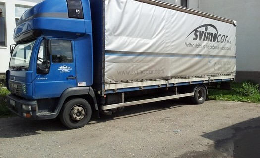 Přeprava po celé Evropě vlastními vozy do 24 tun