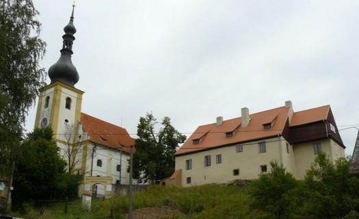 Obec Brod nad Tichou okres Tachov, Kostel svatého Jakuba