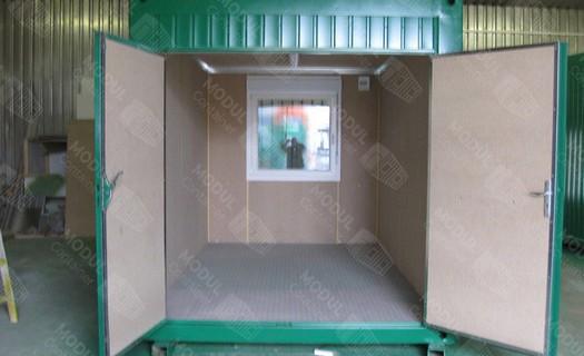 Výroba modulových kontejnerů Zlín, skladovací kontejnery
