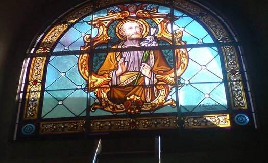 Renovace vitráží oken, dveří, nábytku Tábor
