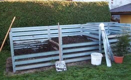 Vysoce kvalitní kompostéry z pozinkovaného plechu Litomyšl, kompostéry s nejdelší životností