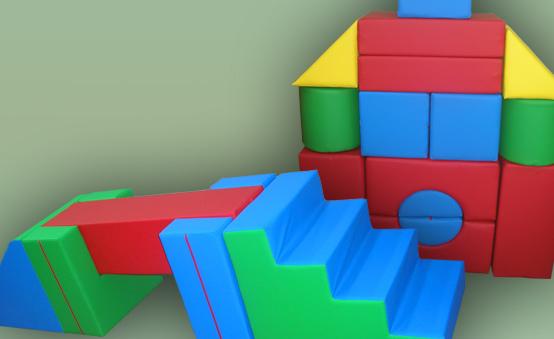Sportovní žíněnky matrace skládací hrady sestavy kostek